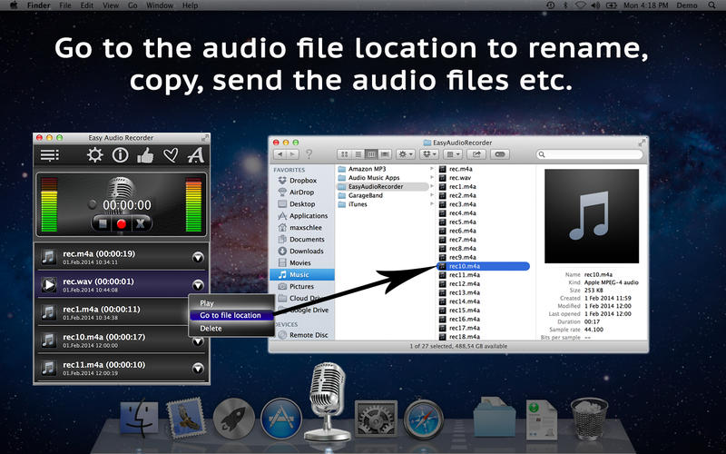 EasyAudioRecorder Screenshot - 5