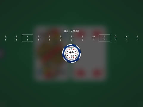 Blackjack Card Counting screenshot