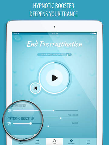 End Procrastination Hypnosis FREE - Increase Motivation to Achieve Your Life Goals screenshot