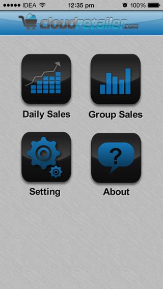 Cloud Retailer iPhone Screenshot 1