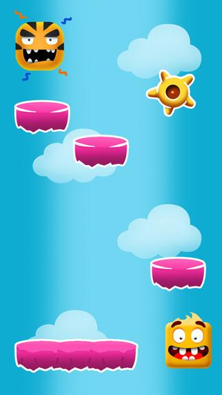 Jumping Square - Crazy Mega Jump