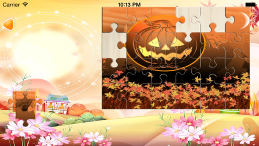 Haloween JigSaw Puzzle Game Free