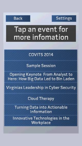 COVITS 2014
