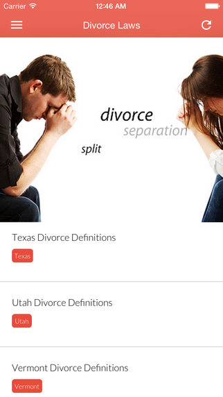 U.S. Divorce Law - Divorce Laws of the Fifty States District of Columbia