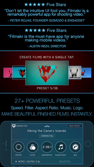 Filmakr - Manual Video Camera Instant Editor