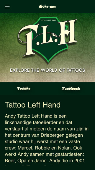 Tattoo Left Hand