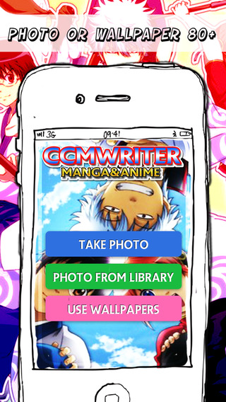 CCMWriter - Manga Anime Studio Design Text and Photos Fantasy Camera