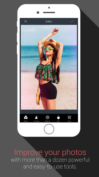 Photo Editor by InPixio: photo filter effect and touch-up editor