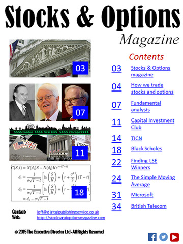 Stocks and options magazine