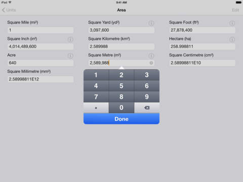 Units iPad Screenshot 2