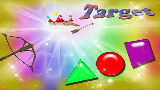 Basic Shapes Hit Magical Target Game