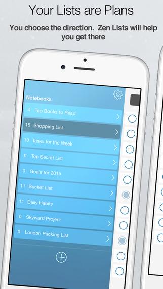 Zen Lists - 简约任务管理应用[iOS]丨反斗限免