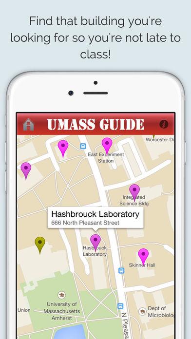 UMass Amherst Guide screenshot 3