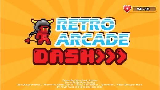 Retro Arcade Dash FREE: A extreme run jump and shooting endless arcade runner game