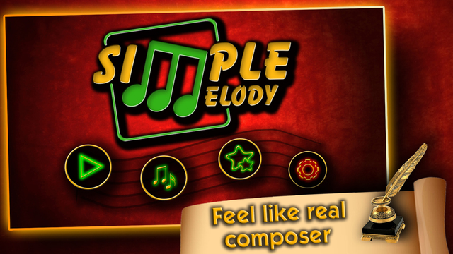 Simple Melody, Feel like a real musician and composer Screenshots