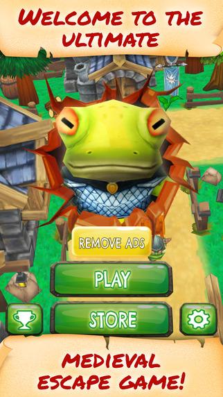 Knight Frog Run Havoc - PRO - Fantasy Medieval Town Endless Runner Game