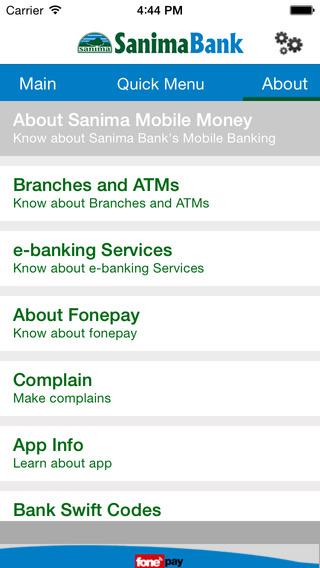 Sanima Mobile Money