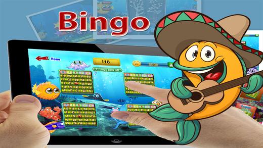 Bingo Fun Mania Free - When Victorios Tuna Clam Puffer and Urchin Willingly Expect You