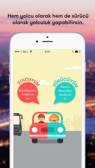TAG - Tek Araba Gidelim Sosyal Yolculuk Paylaşımı - Social Ridesharing