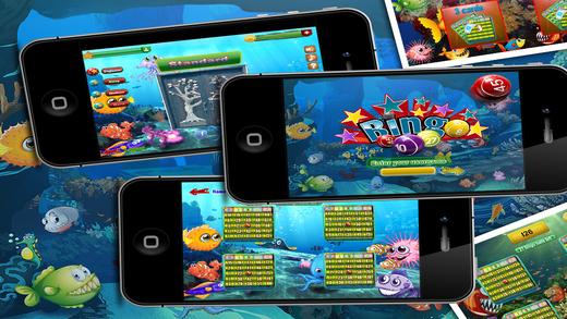 玩免費遊戲APP|下載Bingo Fun Mania Pro - Lively Tuna Clam Puffer and Urchin Willingly Expect the Victorious app不用錢|硬是要APP