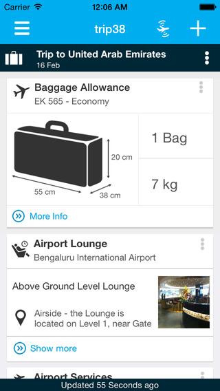 Screenshots for Trip38 Travel Assistant - Free