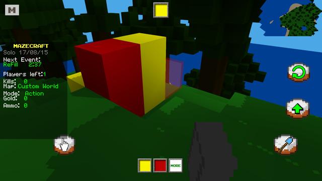 MAZECRAFT BUILD IT Draw My Thing - MC Mini Game with 3D Blocks