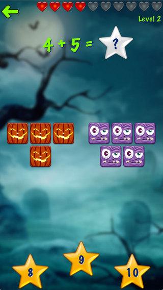 Ace Halloween Kids Math