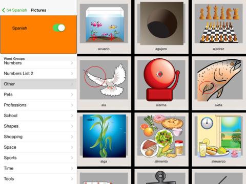 h4 Spanish iPad Screenshot 4