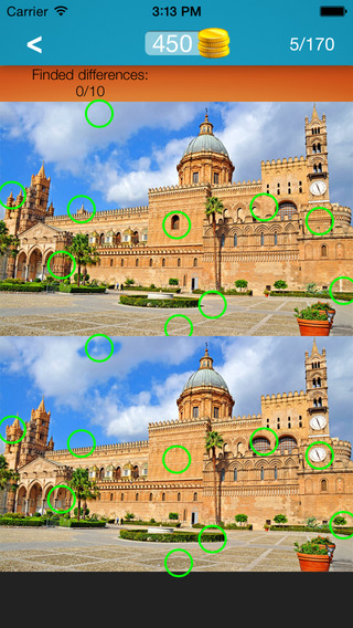 What's the Difference ~ spot the differences find hidden objects part 14