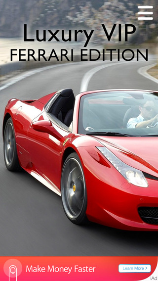 Luxury VIP - Ferrari Edition