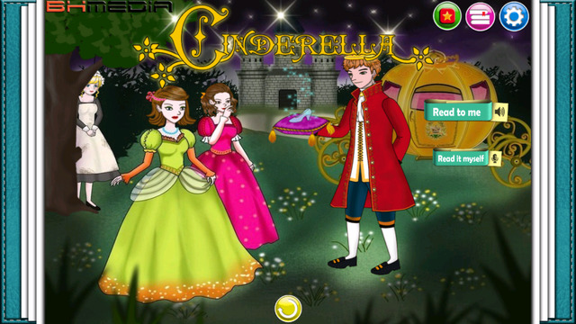 Cinderella - amazing interactive story for kids