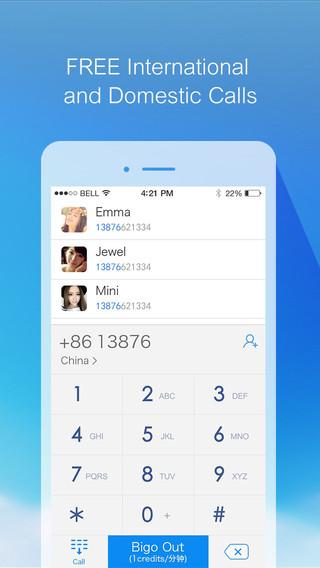 Bigo:Free Phone Call Messenger