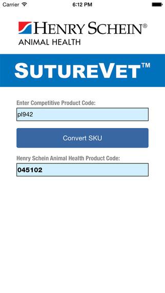 Henry Schein SutureVet™ Reference Tool