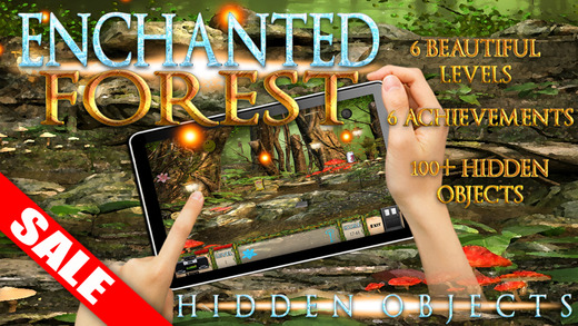 Hidden Objects Enchanted Forest Fantasy Kids Game iPad Edition