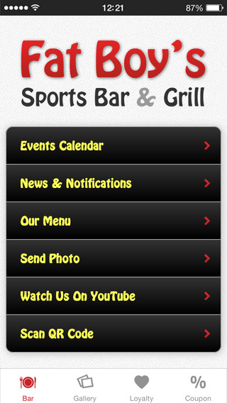 Fat Boy's Sports Bar Grill