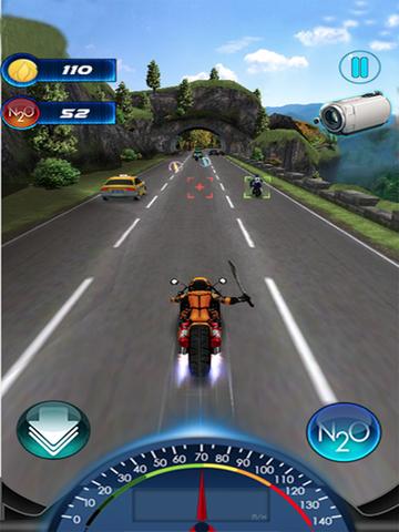 Traffic Death Moto 2015 screenshot 8