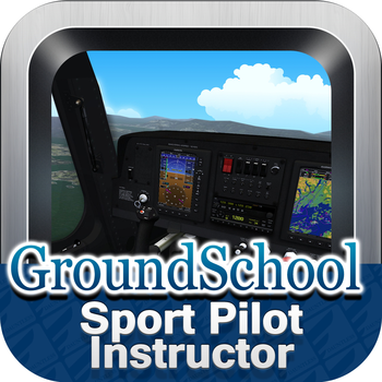 groundschool faa knowledge test prep sport pilot instructor and examiner app app. Black Bedroom Furniture Sets. Home Design Ideas