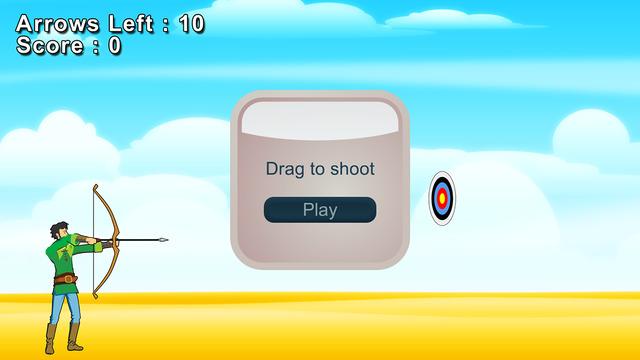 Drag Arrow Shoot