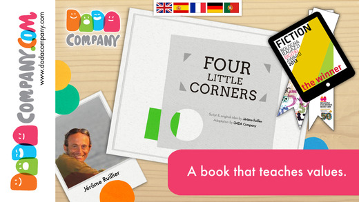 Four little corners - An interactive storybook app about friendship
