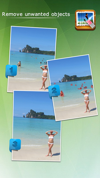 Screenshot #1 for Photo Eraser for iPhone - Remove Unwanted Objects from Pictures and Images