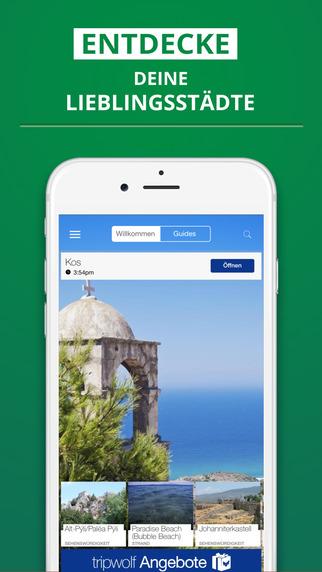 Kos - dein Reiseführer mit Offline Karte von tripwolf Guide für Sehenswürdigkeiten Touren und Hotels