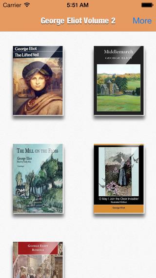 George Eliot Collection Volume 2