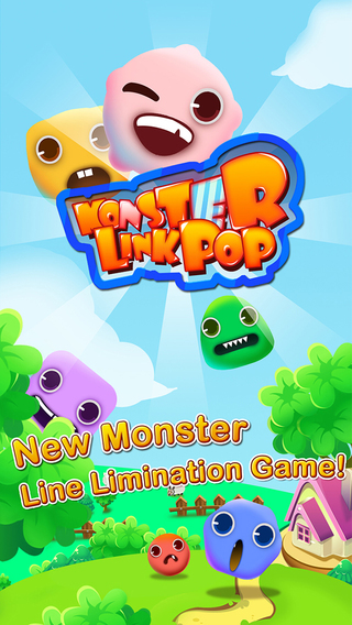 Monster Link Pop - HD FREE Line Game