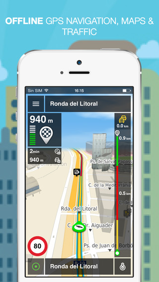 NLife Iberia Premium - Offline GPS Navigation Traffic Maps