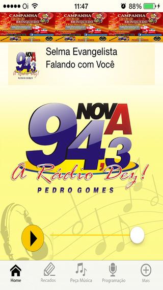 Nova FM 94 3 Pedro Gomes