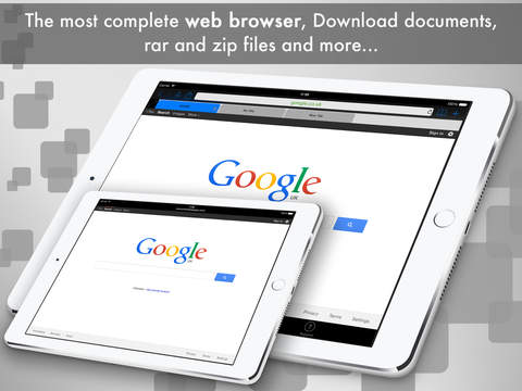eDl HD Pro - Web Browser and File Manager Screenshots