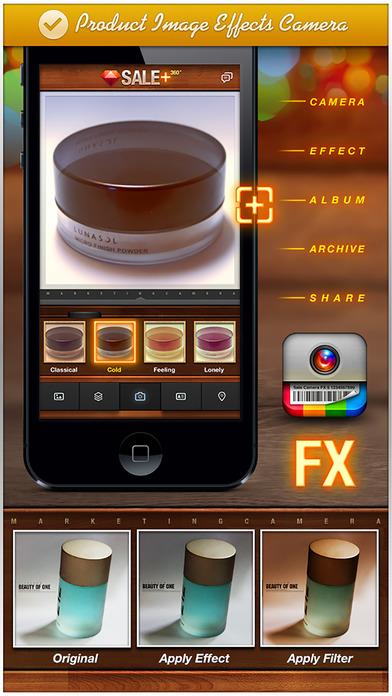 SALE 360 - marketing camera effects plus photo editor visual creator Apps for iPhone/iPad screenshot