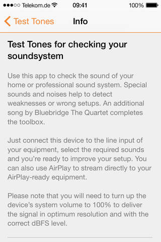Test Tones screenshot 3
