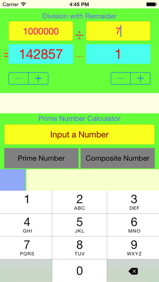 Numbers Calculator