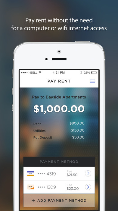 RentPayment iPhone Screenshot 5